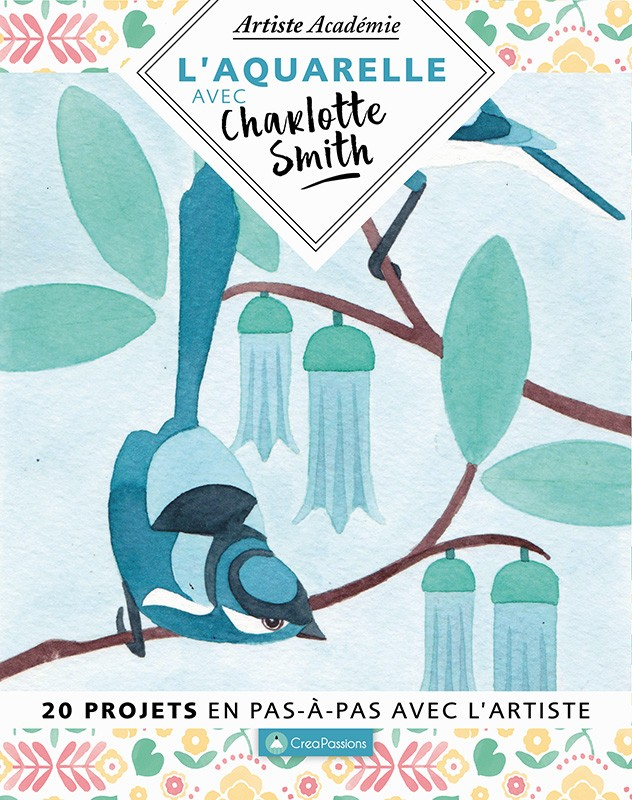 L'aquarelle avec Charlotte Smith